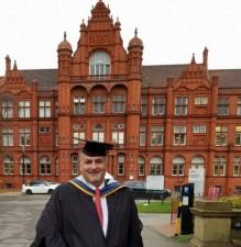 البكري يحصل على شهادة الماجستير في العلوم المالية والمصرفية الدولية من جامعة سالفورد