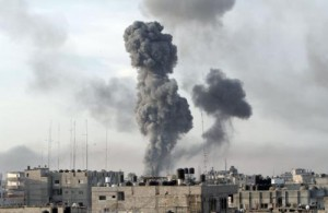 سلسلة غارات جوية إسرائيلية على غزة