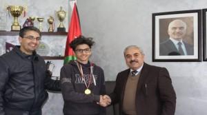 سيف سويدان ينال ذهبية شطرنج المدارس الحكومية والخاصة