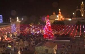 بيت لحم تحتفل بالعيد المجيد تحديا لقرار ترمب