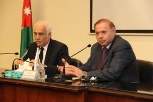 رئيس جامعة عمان العربية يلتقي أعضاء هيئة التدريس في كلية العلوم التربوية والنفسية