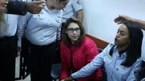 تمديد اعتقال نور التميمي لـ100 يوم