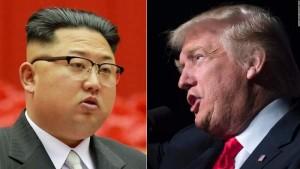 ترمب يبدي استعداده لإجراء محادثات مع زعيم كوريا الشمالية
