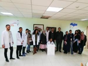وفد من جامعة عمان الأهلية يزور مستشفى المركز الوطني للصحة النفسية
