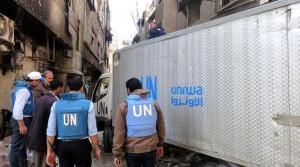 اللاجئون الفلسطينيون يرفضون اجراءات