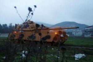 وزير الدفاع التركي: عملية عفرين بسوريا بدأت