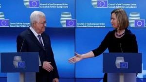 عباس يكسب دعم أوروبا لعاصمة فلسطينية في القدس الشرقية