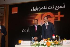 اورنج الأردن تطلق رسميا خدمات الجيل الرابع المتقدم