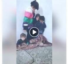 بالفيديو ...الاجهزة الامنية تتوصل الى الشاب الذي هدد حياة اخوته باسطوانة الغاز في الرمثا