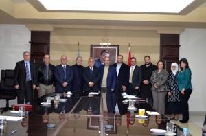 بحث آفاق التعاون بين جامعة عمّان الأهليّة وبلدية الفحيص