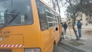 تدهور حافلة روضة في البلقاء