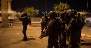 شهيد و70 اصابة بمواجهات مع قوات الاحتلال في نابلس
