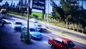 بالفيديو ... إصابة 4 أشخاص اثر حادثي تصادم بين مركبتين في محافظة اربد