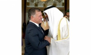 الملك: الشيخ محمد بن زايد أخ لي ولكل أردني وقائد عربي نعتز به