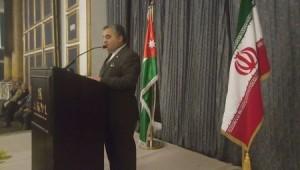 بالصور...السفير الإيراني في عمّان يتغزل بالأردن