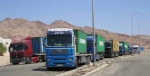 الحكومة تسمح للشاحنات الأردنية دخول الأراضي العراقية