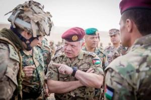 الملك للمتقاعدين العسكريين: أنتم عز للأردن وأهله