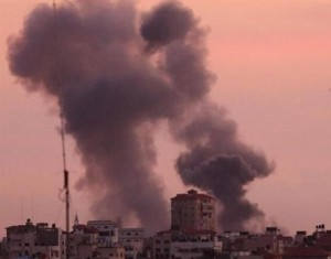 طائرات الاحتلال تقصف مواقعا للمقاومة في غزة