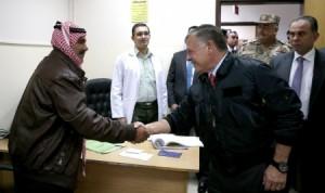 بالصور...جلالة الملك عبدالله الثاني يتفقد الخدمات في مدينة الحسين الطبية