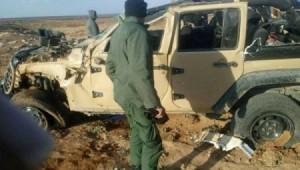 وفاة ضابط واصابة اخر بتدهور مركبة عسكرية في المفرق