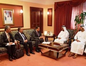 فاخوري يبحث مع صندوق ابو ظبي للتنمية علاقات التعاون الثنائي
