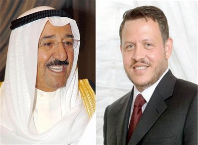 الرفاعي ينقل رسالة من الملك إلى أمير الكويت الاثنين