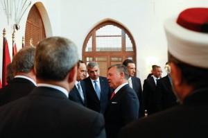 بالصور .. الوزراء الجدد يؤدون اليمين امام الملك