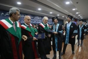 الحباشنة يرعى تخريج الفوج الواحد والعشرون من طلبة جامعة الزرقاء