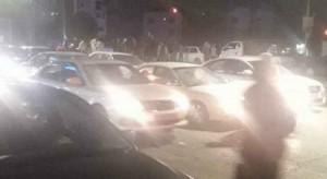 اعمال شغب وتكسير محال بعد انتهاء مباراة الرمثا وشباب الاردن في اربد