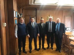 بحضور د. الحوراني ....النائب الصقور يبحث مع المسؤولين البلغاريين دعم الاستثمارالاردني وسبل التعاون المشترك