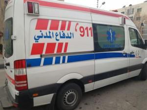 وفاتان و3 اصابات بتصادم ثلاث مركبات في الكرك