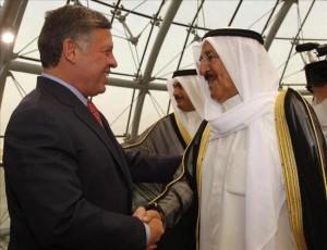 الملك يعزي أمير الكويت بوفاة الشيخة الجازي