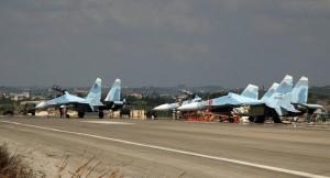 مصرع 32 شخصا فى تحطم طائرة نقل روسية بقاعدة جوية بسوريا