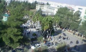 مشاجرة طلابية في جامعة اليرموك على خلفية نتائج الانتخابات
