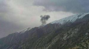 مصرع 11 شخصا بتحطم طائرة تركية وسط ايران
