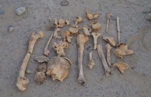 العثور على عظام بشرية قديمة اسفل محل تجاري في عمان