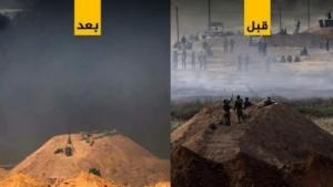ماذا فعل الغزييون والرياح بجنود الاحتلال في جمعة الكوشوك؟