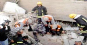 تحميل مسؤولية انهيار عمارة البيادر لمالكها والمهندس المشرف