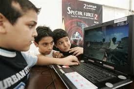 الجرائم الالكترونية تحذر من العاب الكترونية قد تنهي حياة الاطفال !