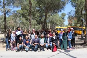طلبة العلوم التربوية في جامعة البترا ينظمون يوم بيئي تطوعي