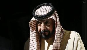أحدث صورة لرئيس دولة الإمارات الشيخ خليفة بن زايد