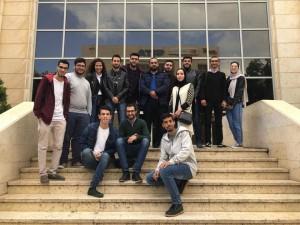 فريق من كلية تكنولوجيا المعلومات بجامعة البترا يتأهل للمرحلة النهائية من مسابقة حكيم