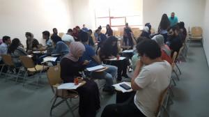 طلبة البترا يشاركون في ورشة عمل حول حوار الأديان في الجامعة الأمريكية