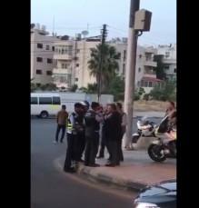 بالفيديو..الملك يتناول الإفطار مع طاقم دورية على دوار صويلح في عمان