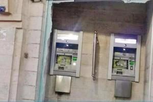 محاولة سرقة صراف آلي في شارع مكة