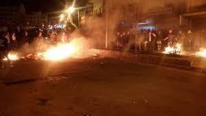 لأسباب غير معروفة...اندلاع أعمال شغب في منطقة حي نزال