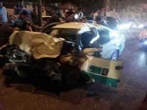 وفاة و4 اصابات بينهم 3 رجال أمن بحادث تصادم في عمّان