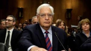 واشنطن تستدعي سفيرها لدى إسرائيل لبحث