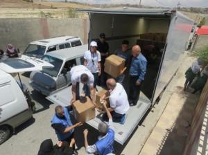 بنك ABC الأردن يواصل وللعام الثاني على التوالي توزيع طرود الخير