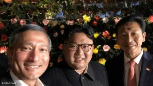 أول سيلفي لزعيم كوريا الشمالية